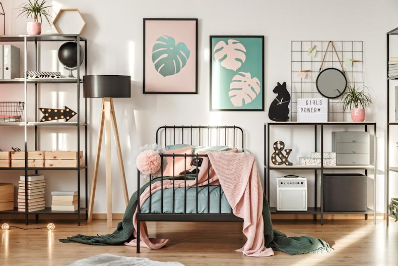 ベッドのレイアウト例