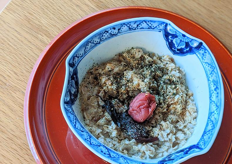 玄米ご飯風オートミール