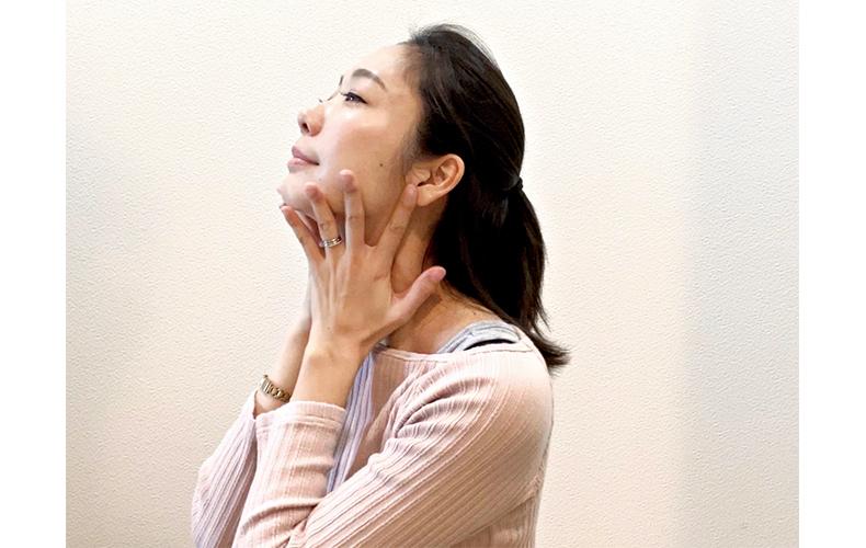 顔のくすみを払拭するリンパマッサージ