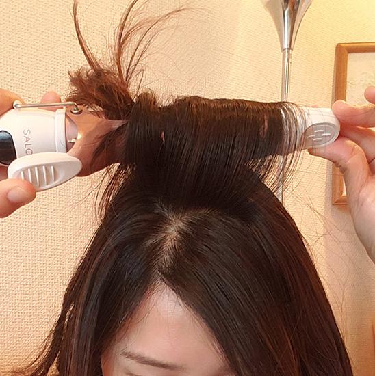 ふんわりエアリーな巻き髪ヘア