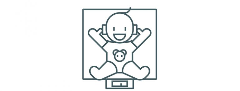新生児 体重 測り方 方法