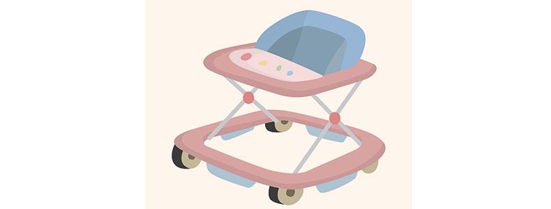 赤ちゃん歩行器いつからいつまで始めるタイミング卒業タイミングおすすめ商品ベビーウォーカーシンプルテーブル付きタイプ遊べるおもちゃ付き