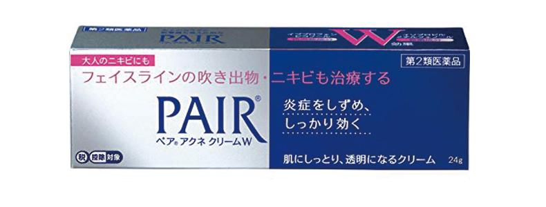 ニキビにきびケア用品商品選び方おすすめニキビにきびを減らすために必要なこと方法ライオン ペアアクネクリームW 24g