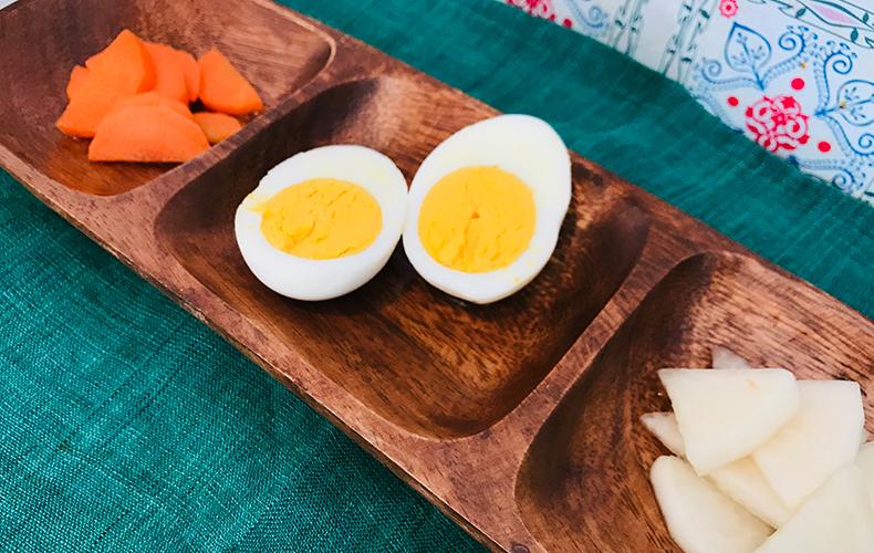 つける に を 卵 酢