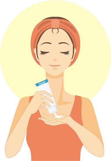 正しい洗顔をする