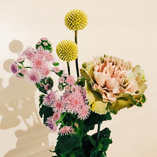 まったりデートに「ex.flowershop KURAMAE」