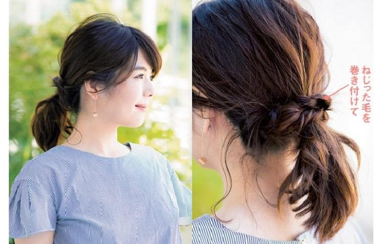 髪型 ミディアム