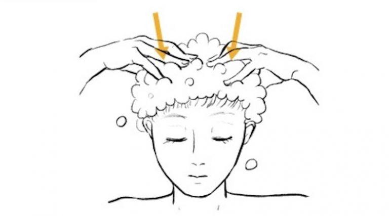 ◆シャンプーしながら頭皮のマッサージがおすすめ!