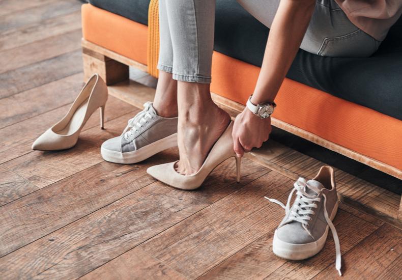 靴擦れ予防に
