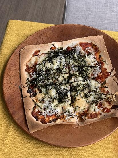 春巻きの皮deピザ