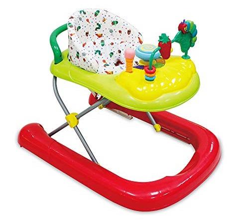 赤ちゃん歩行器いつからいつまで始めるタイミング卒業タイミングおすすめ商品ベビーウォーカーシンプルテーブル付きタイプ遊べるおもちゃ付きエリック・カールはらぺこあおむし 2in1ウォーカー
