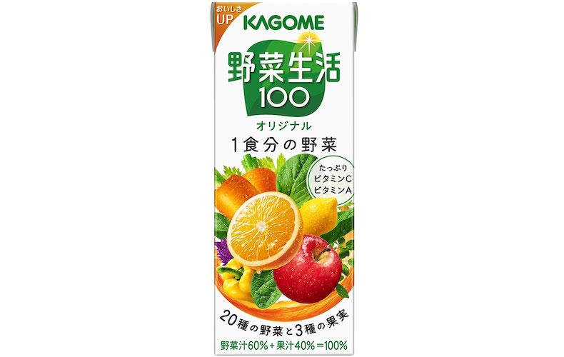 手作りのジュースが◎時間がないときは市販の野菜ジュースでも