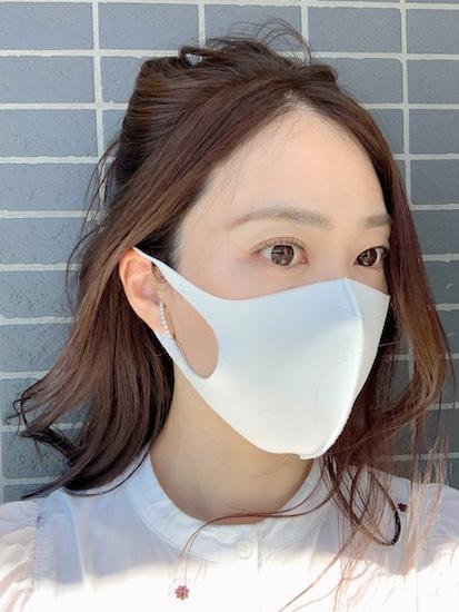 夏用マスク,吉田美帆
