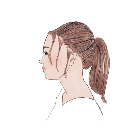 無造作感のあるおしゃれなまとめ髪