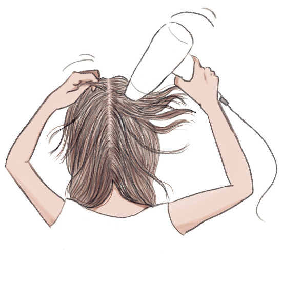 サロン帰りのような髪に仕上がる4ステップ