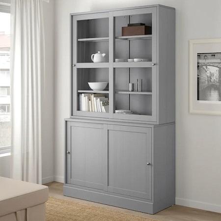 IKEA イケア 収納力 収納 大容量 食器棚 棚 キッチン HAVSTA ハーヴスタ