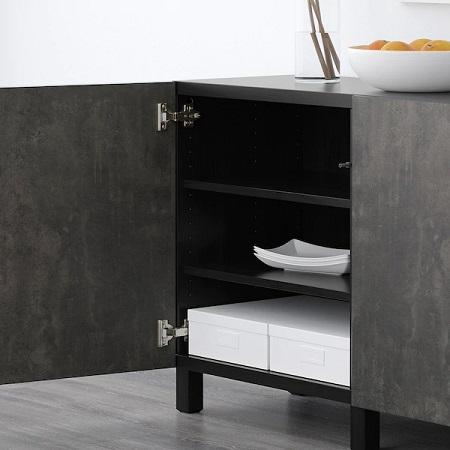 IKEA イケア おしゃれ デザイン性 デザイン 食器棚 棚 キッチン BESTÅベストー