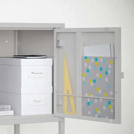 IKEA イケア おしゃれ デザイン性 デザイン 食器棚 棚 キッチン LIXHULT リックスフルト