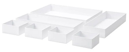 IKEA イケア 食器棚 棚 キッチン 収納 方法 ボックス 箱 入れ物 ケース MALARENマラーレン