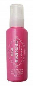 ビタミンCやセラミドなどを配合「菊正宗 日本酒の美容液」