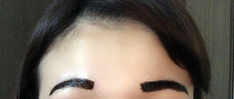 ◆眉ティントの塗り方(はがすタイプ)