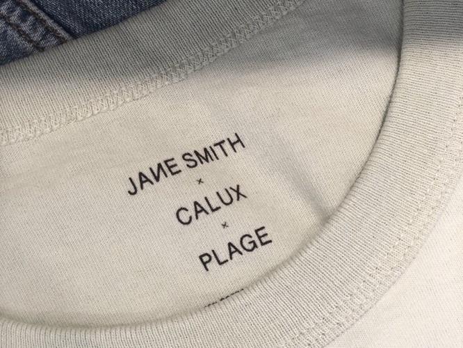 Plage JANE SMITH CALUU プラージュ ジェーン スミス キャラクス コラボ トップス ベイクルーズ