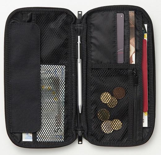 無印良品 良品計画 パスポートケース 特徴 おすすめ 整理整頓 収納 ポリエステルパスポートケース
