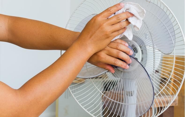 扇風機 保冷剤