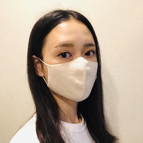 秋冬用マスク サイフク のびるニットマスク