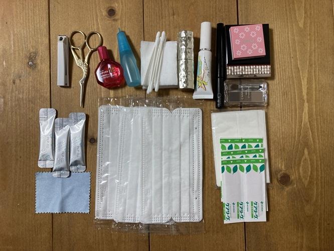無印良品 パスポートケース クリアポケット ブラック 旅行 バッグ 収納 メイク ケアアイテム