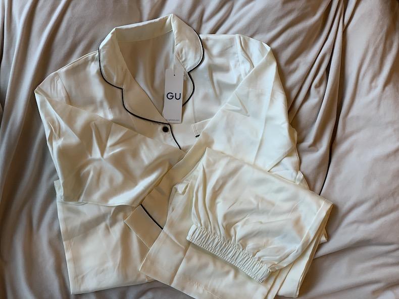 GU パイルパジャマ