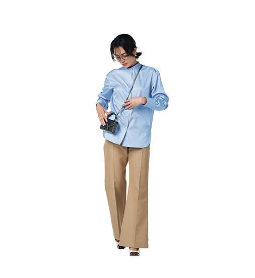 シャツ 秋ファッション
