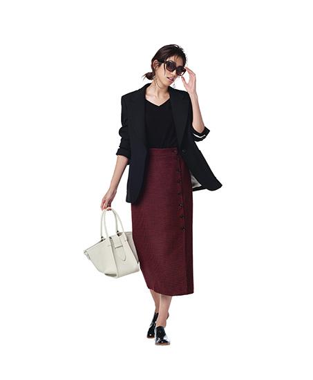 秋ファッション スカート