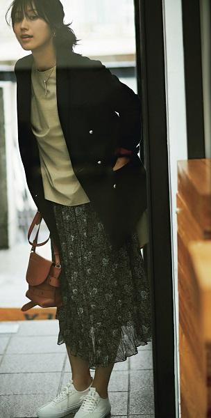 Domani10/11月号 たった5枚で、毎日〝ゆるっと美人♡〟着回し コーディネート