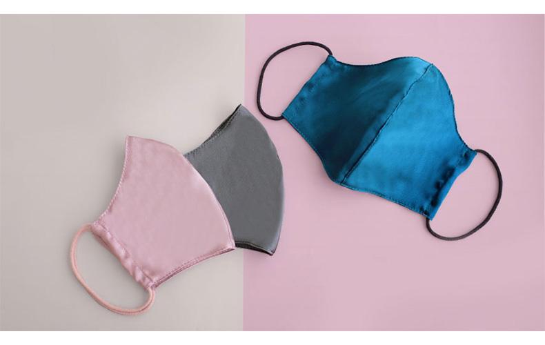 MASK CLUB シルク素材の布製マスク