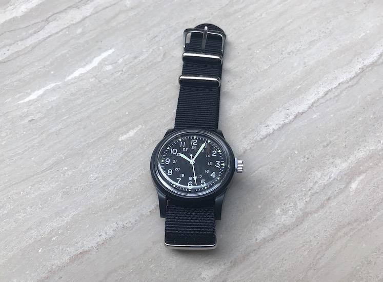ダイソーの腕時計