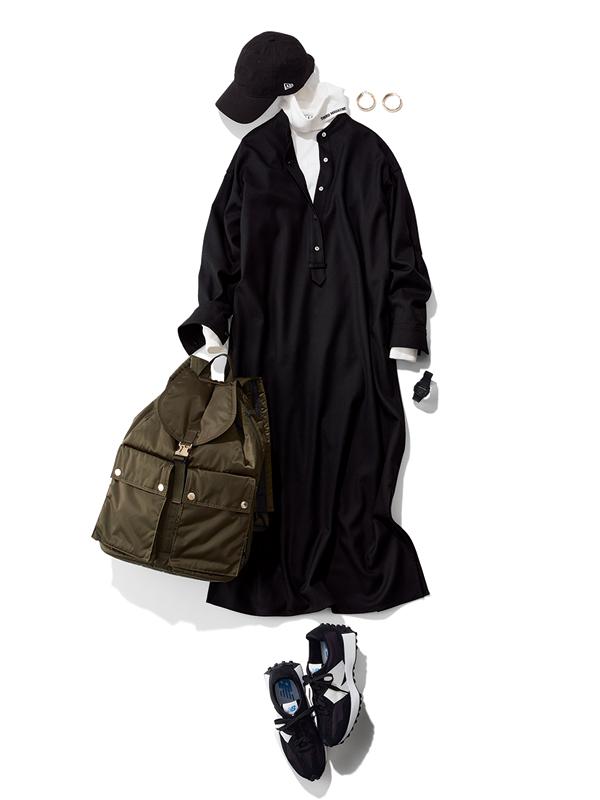 【コーデとのバランスが悪い】帽子とコーデを同トーンでまとめてみたり、シンプルな服に合わせてみて!