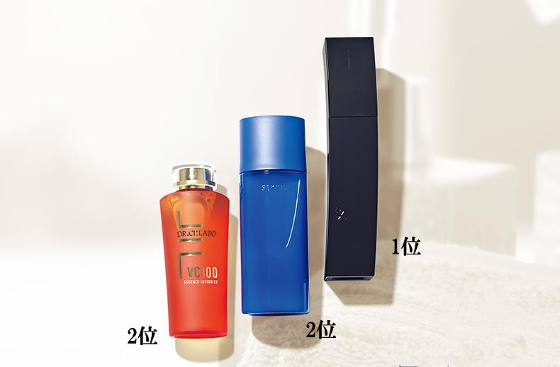 肌に潤いを行き渡らせて整える、おすすめの化粧水ベスト3