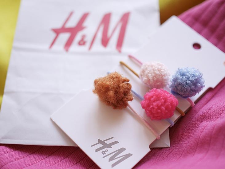 H&M キッズ ヘアアクセサリー