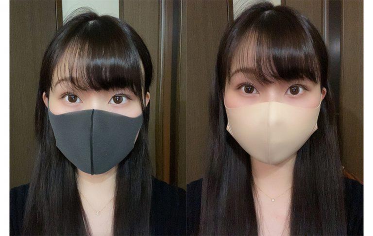 KATEのマスクは小顔に見える!