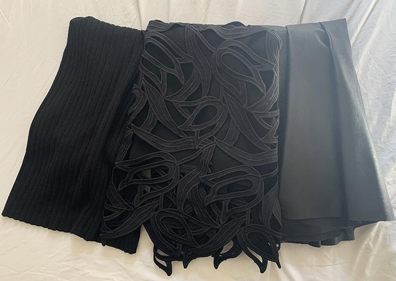 偏愛アイテム 黒スカート