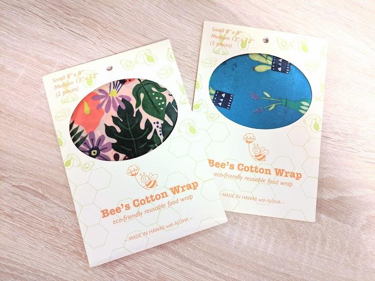 Bee's Cotton Wrapのエコラップ