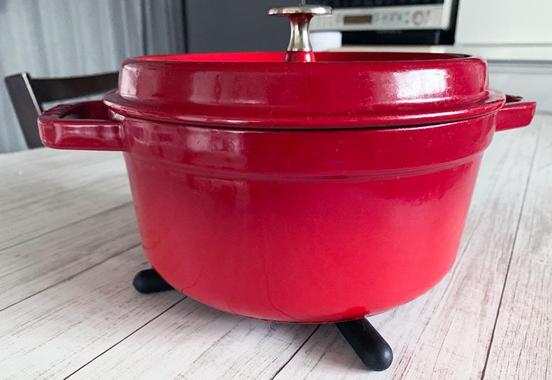 ダイソー、100均,折りたたみ式鍋敷き