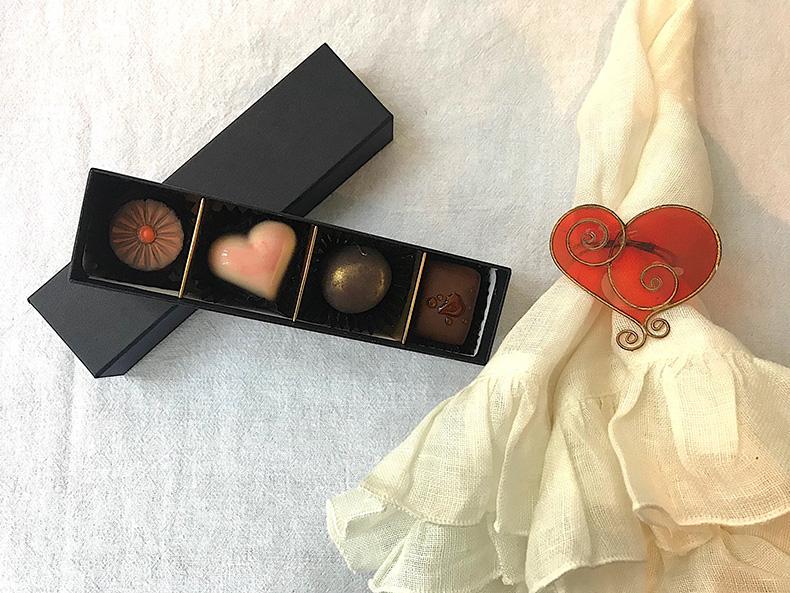 フランチャコルタ,バレンタイン,チョコレート