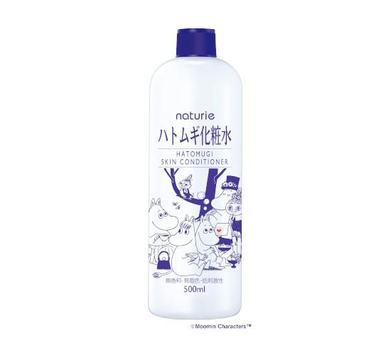 ムーミンコラボ ハトムギ化粧水