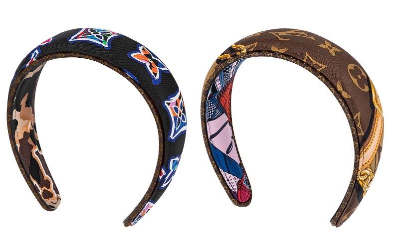 Louis Vuittonルイ・ヴィトン新作ヘアバンドヘッドバンドヘアアクセルイ・ヴィトンサステナブルコレクションBE MINDFULビーマインドフルヘッドバンド・ビーマインドフルシルク100%素材