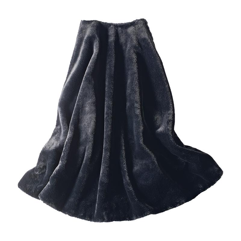 起毛素材スカート