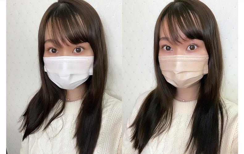 血色マスク