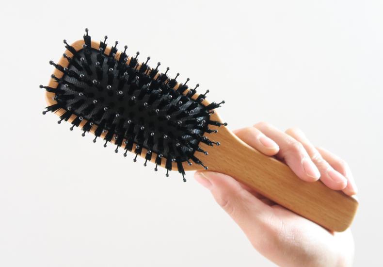 無印良品│ブナ材ヘアブラシ ミックス毛