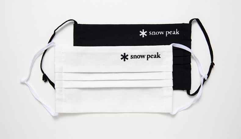 Snow Peak 手ぬぐいマスク